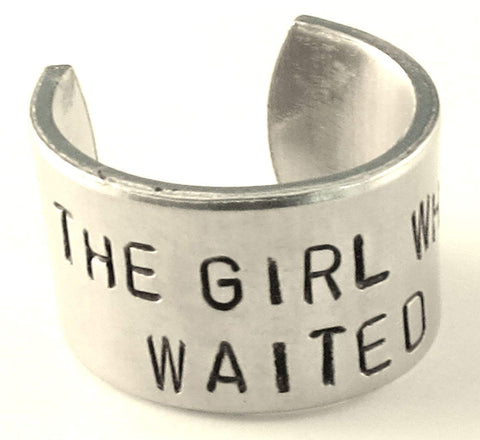 The Girl Who Waited - Doctor Who Inspired- Adjustable Aluminum Ring