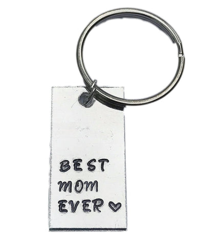 Best Mom Ever - Mother's Day Gift/Mom Gift/Grandma gift aluminum key ring keychain