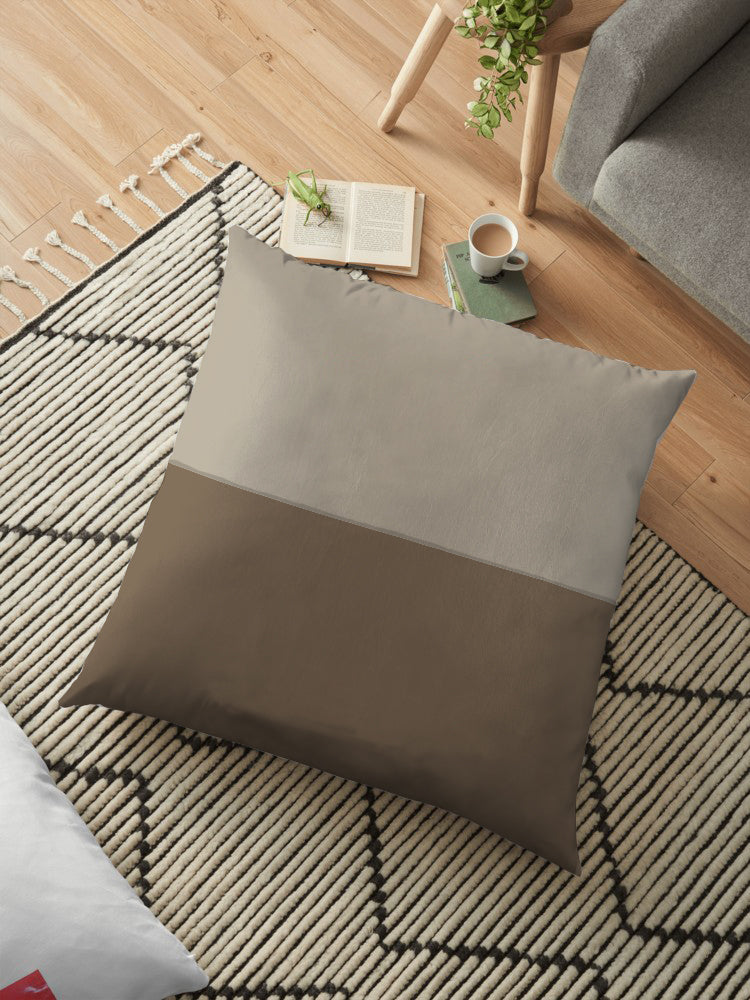 Filled Floor Cushion 80 x 80 cm-D-12C - Cotton Home