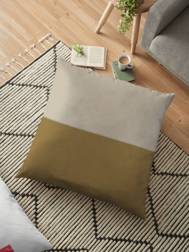 Filled Floor Cushion 80 x 80 cm-D-1C - Cotton Home