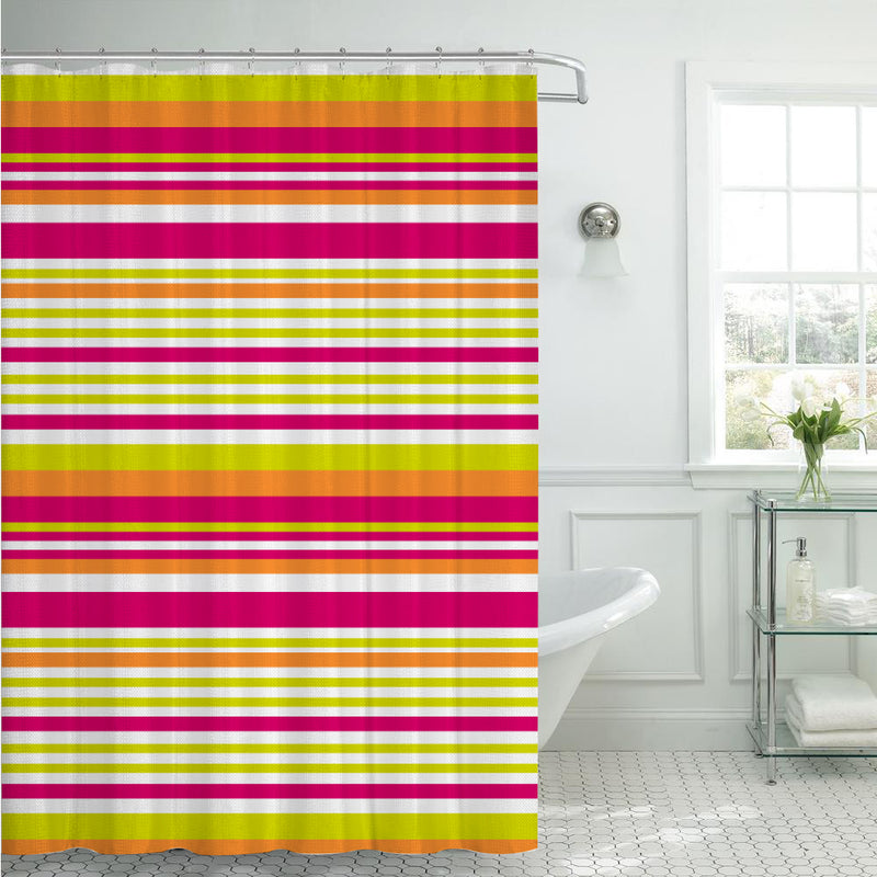 Printed Peva/Eva Shower Curtain 178 x 182 CM (70 x 72 IN) - Cottonhome.ae