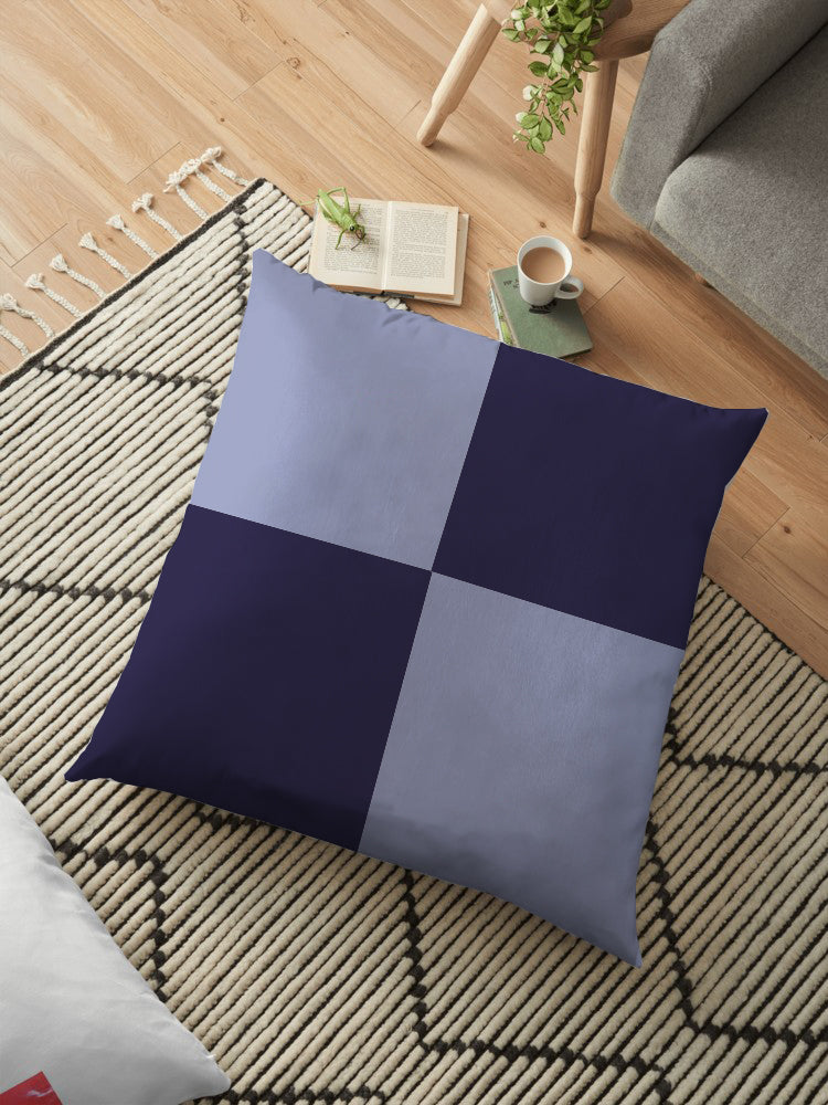 Filled Floor Cushion 80 x 80 cm-D-9D - Cottonhome.ae