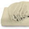 REST 3PCS SET SINGLE FITTED SHEET SUPER SOFT-IVORY - Cotton Home