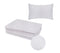 BS4 DISPOSABLE BEDSHEET & 1PC PILLOW CASE-50GSM - Cottonhome.ae