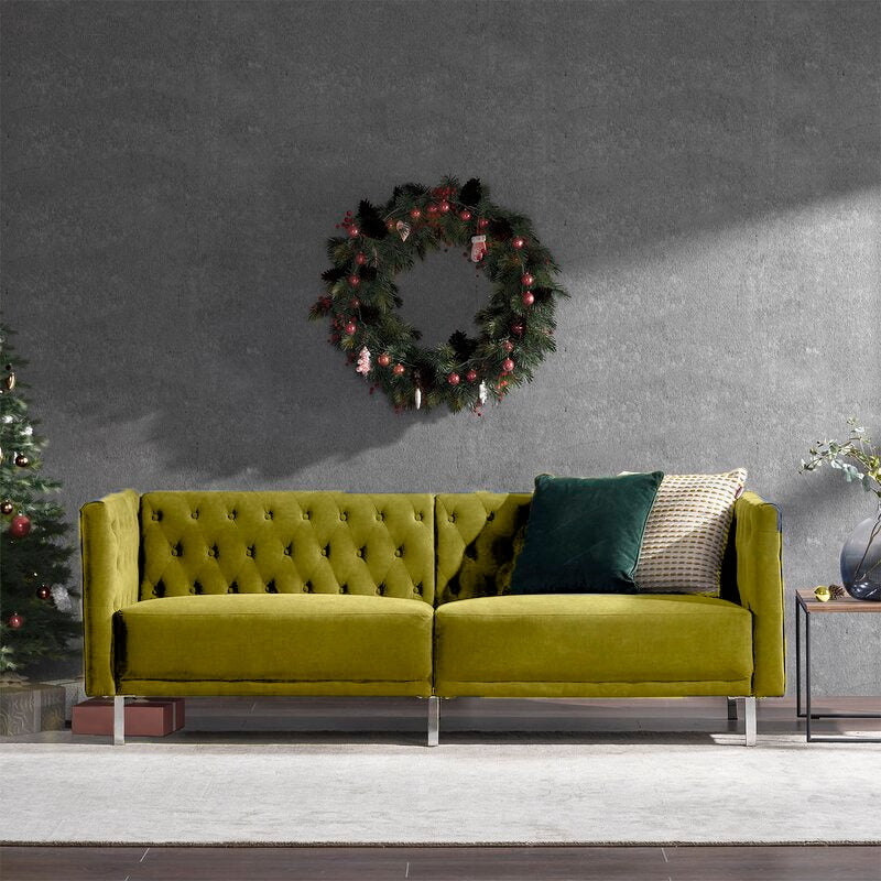 Wide Rolled Arm Lafron Sofa - Cotton Home