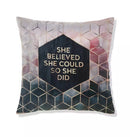 Digital Printed Filled Cushion-D1927 - Cotton Home