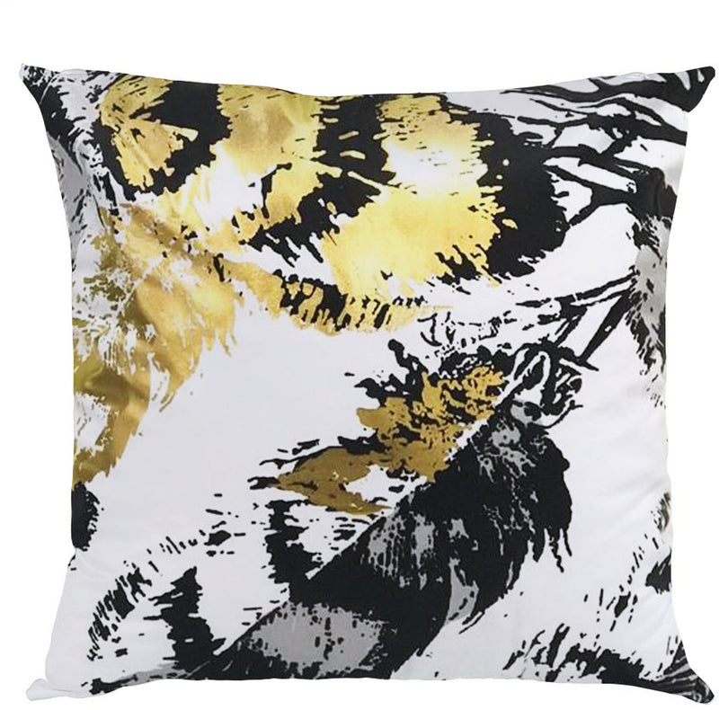 Casual 1pc Digital Printed Filled Cushion-D1911 - Cottonhome.ae