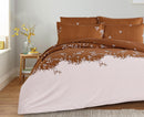 4PCS SET DUVET COVER SINGLE SIZE 225X180CM-DIMA11