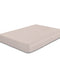Rest Super Soft Double Flat Sheet 200x220cm-Dk Beige - Cotton Home