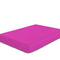 COTTON RICH SATEEN SINGLE FLAT SHEET FUSCHIA-220 X 240 CM - Cottonhome.ae