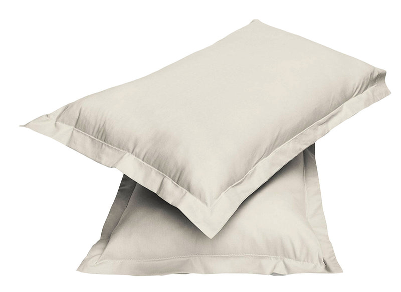 2pair Super soft Pillow Case-Dk Beige - Cotton Home
