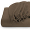REST 3PCS SET DOUBLE FITTED SHEET SUPER SOFT-KHAKI - Cotton Home