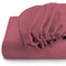 REST 3PCS SET DOUBLE FITTED SHEET SUPER SOFT-MAUVE - Cotton Home