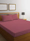 REST 3PCS SET SINGLE FITTED SHEET SUPER SOFT-MAUVE - Cotton Home