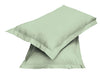 2pair Super soft Pillow Case-Mint Green - Cottonhome.ae