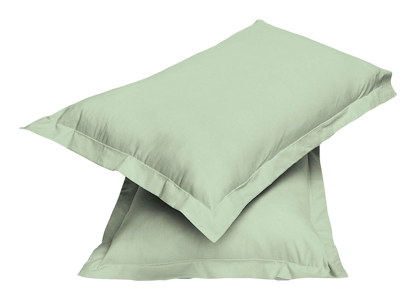 2pair Super soft Pillow Case-Mint Green - Cotton Home