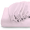 REST 3PCS SET SINGLE FITTED SHEET SUPER SOFT-PINK - Cotton Home