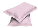 2pair Super soft Pillow Case-Pink - Cotton Home