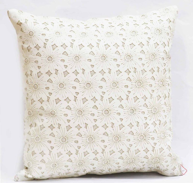 LASER CUT PU LEATHER CUSHION-D