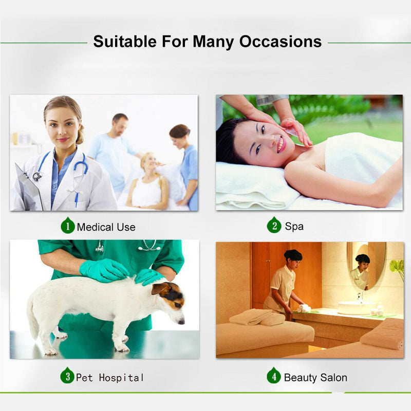 Disposable Waterproof Bedsheet - 1 piece 150x220cm  for Hospitals or Spa - Cottonhome.ae