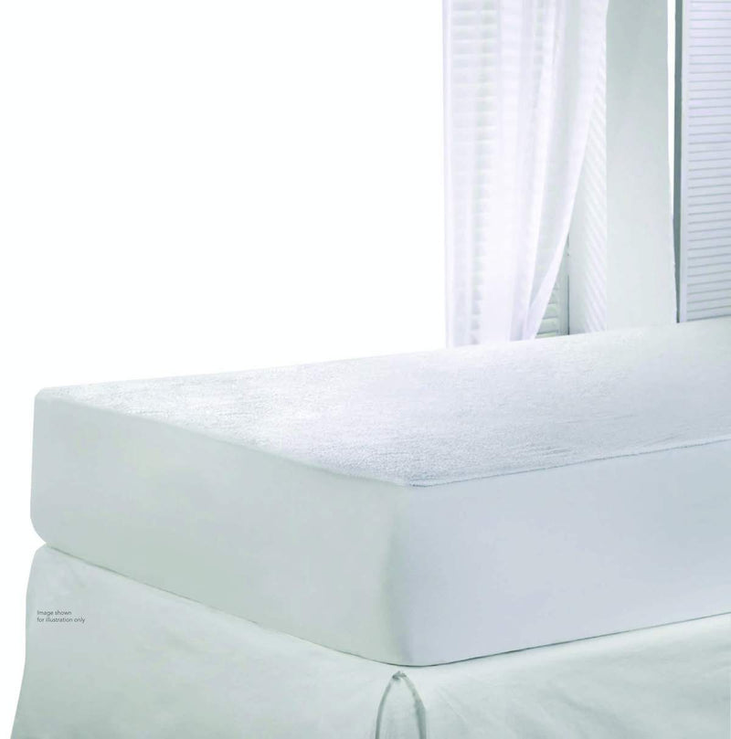 Rest Mattress Protector Queen-160 x 200 + 35cm - Cottonhome.ae
