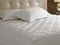 Mattress Pad King Size 180 x 200 cm-White - Cottonhome.ae