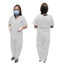 SC12 DISPOSABLE SRUB SUIT WHITE-50GSM - Cottonhome.ae