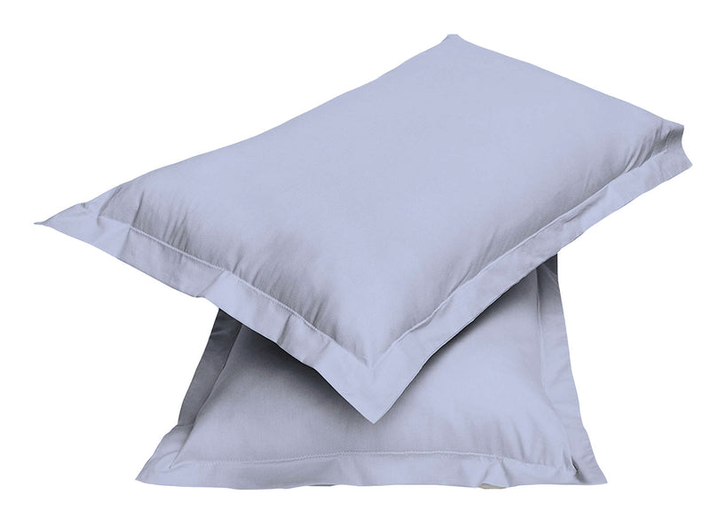 2pair Super soft Pillow Case-Sky Blue - Cottonhome.ae