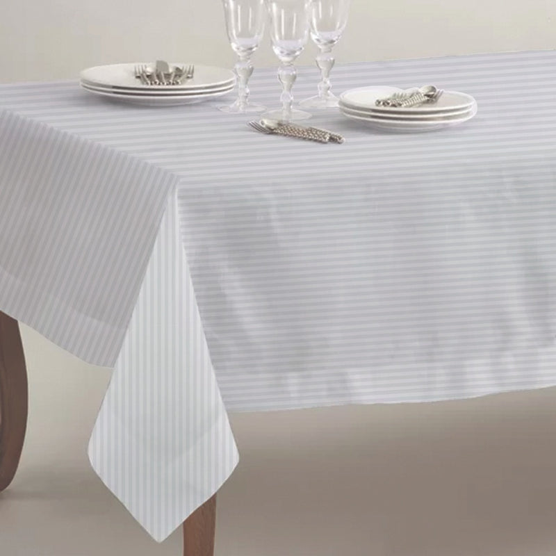 Table Cloth Square-100 x 160 cm-White - Cottonhome.ae