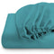 REST 3PCS SET DOUBLE FITTED SHEET SUPER SOFT-TEAL - Cotton Home