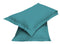 2pair Super soft Pillow Case-Teal - Cottonhome.ae