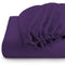 REST 3PCS SET DOUBLE FITTED SHEET SUPER SOFT-DK PURPLE - Cotton Home