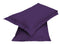 2pair Super soft Pillow Case-Dk Purple - Cottonhome.ae