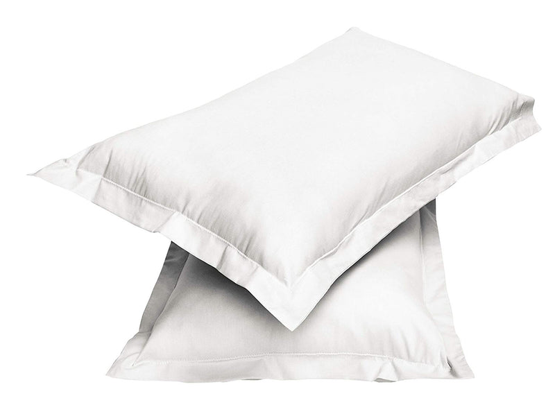 2pair Super soft Pillow Case-White - Cottonhome.ae