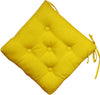 Quilted Chair Pad-Yellow 40x40cm - Cottonhome.ae