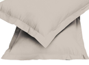 2pair Super soft Pillow Case-Beige - Cotton Home