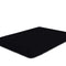 COTTON RICH SATEEN SINGLE FLAT SHEET BLACK-220 X 240 CM - Cottonhome.ae