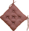 Quilted Chair Pad-Brown 40x40cm - Cottonhome.ae