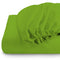 Rest Super soft Fitted sheet 120 X 200 + 25 CM-GREEN - Cottonhome.ae