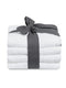 4pcs Hand Towel 40x70cm-White - Cotton Home