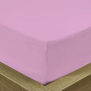 COTTON RICH SATEEN SINGLE FLAT SHEET LILAC-160 X 220 CM - Cottonhome.ae