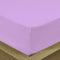 COTTON RICH SATEEN SINGLE FLAT SHEET LILAC BRIGHT-160 X 220 CM - Cotton Home