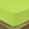 COTTON RICH SATEEN SINGLE FLAT SHEET LIME 200 X 220 CM - Cottonhome.ae
