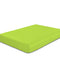 COTTON RICH SATEEN SINGLE FLAT SHEET LIME-160 X 220 CM - Cottonhome.ae
