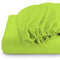 Rest Super soft Fitted sheet 120 X 200 + 25 CM-LIME - Cottonhome.ae