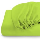 Rest Super Soft fitted sheet 90 x 200 + 20 CM-LIME - Cotton Home