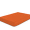 COTTON RICH SATEEN SINGLE FLAT SHEET ORANGE 200 X 220 CM - Cottonhome.ae