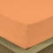 COTTON RICH SATEEN SINGLE FLAT SHEET PEACH-220 X 240 CM - Cottonhome.ae