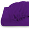 Rest Super soft Fitted sheet 120 X 200 + 25 CM-PURPLE - Cottonhome.ae