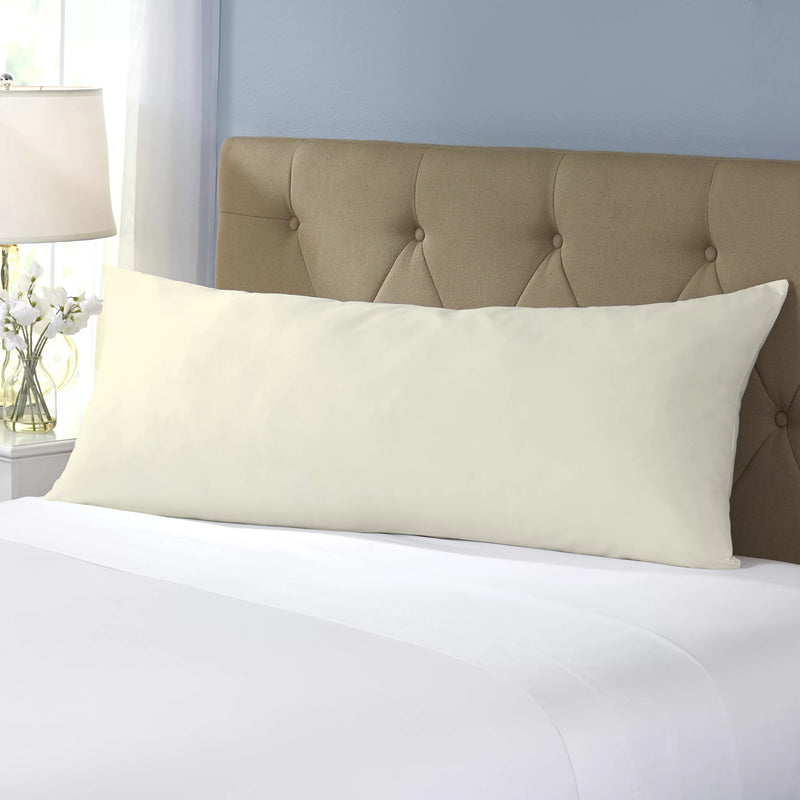 Body Pillow Cover 45x140cm - Ivory - Cotton Home